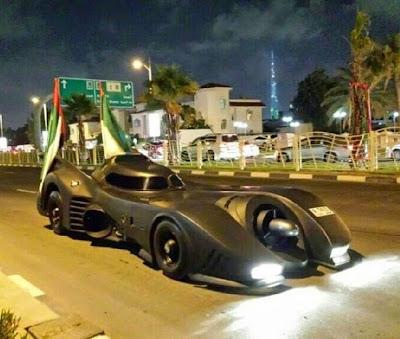 Carro do batmam Dubai