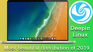 Deepin Linux review the most beautiful distribution of Linux