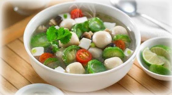 Resep Sup Pak Choi Telur Puyuh Torolong