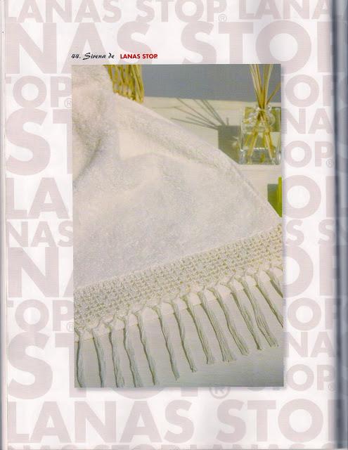 Toallas Motivos en Crochet Patron
