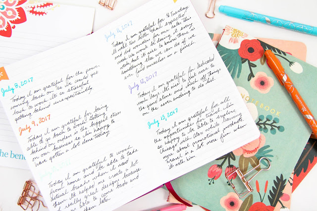 Gratitude Journals and Why It's Taken Me So Long to Have One