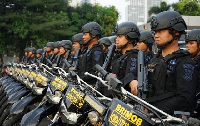 5.000 Polisi Jaga Debat Pilpres 2019 Malam Ini