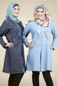 Model Baju Muslim Kemeja Zoya Modern Terbaru