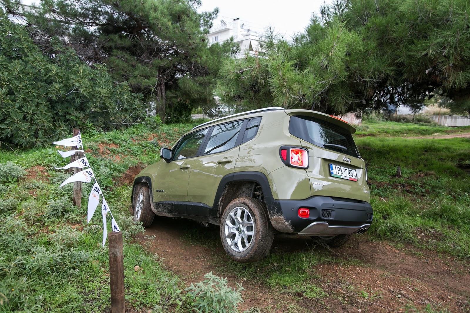 GK 0369 Πετάμε ένα Jeep Renegade σε λάσπες, πέτρες, άμμο, λίμνες. Θα τα καταφέρει; Jeep, Jeep Renegade, Renegade, SUV, TEST, zblog, ΔΟΚΙΜΕΣ