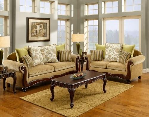 Gevenvie Polyester Cotton Sofa Set