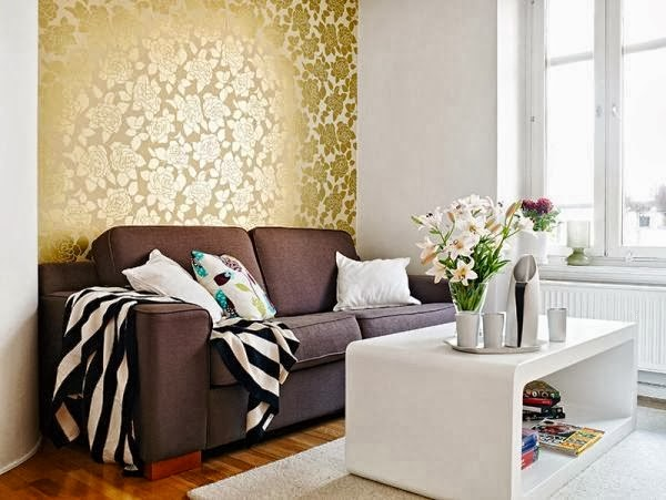 tapisserie dorée