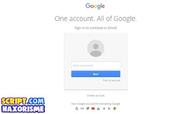 Script Phising Gmail Terbaru