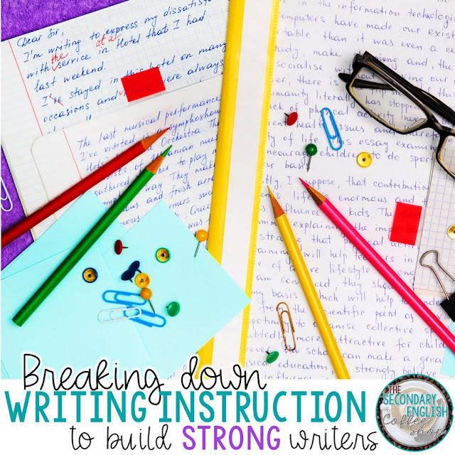 Breaking down writing instruction to build strong writers
