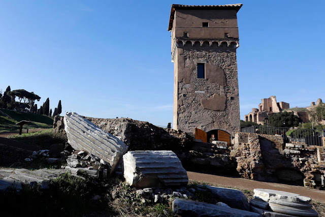 Rome shows off restored Circus Maximus
