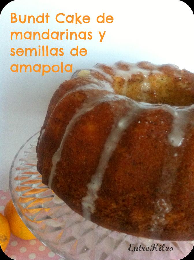 bundt cake de mandarinas y semillas de amapolas