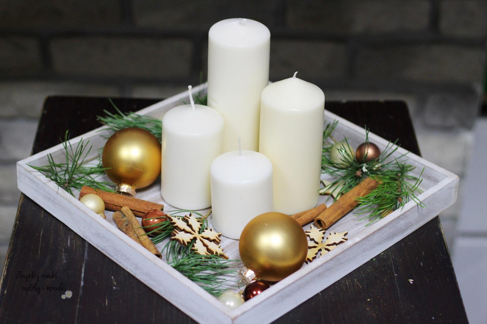 Proste dekoracje adwentowe, czyli stroik adwentowy
