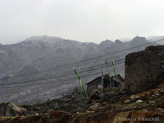 Photograph taken at Thangu, North Sikkim by Manju Panchal