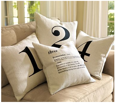 Abstract Grace Pottery Barn Knock Off Pillows
