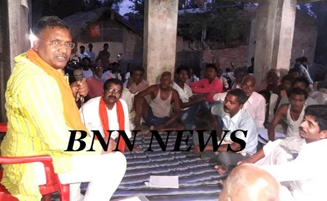 पोखरौनी गांव में एमएलसी ने किया रात्रि-विश्राम, सुनी लोगों की समस्याएं