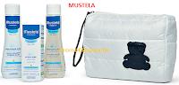 Logo Mustela: vinci gratis i Vanity Travel Set