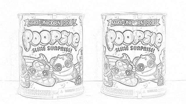 Coloring Pages Poopsie Slime Surprise