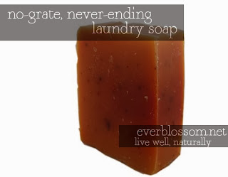 no grating and you never run out of soap!!