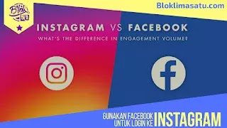 Cara Masuk/ Login Instagram instagram By Facebook/ FB