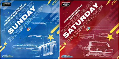 Monster Energy #NASCAR Cup Drivers Join Xfinity Regulars At The Glen