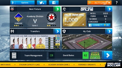 Download Dream League Soccer v6.11 2019 Mod Apk Unlimited Coin + Data OBB For Android