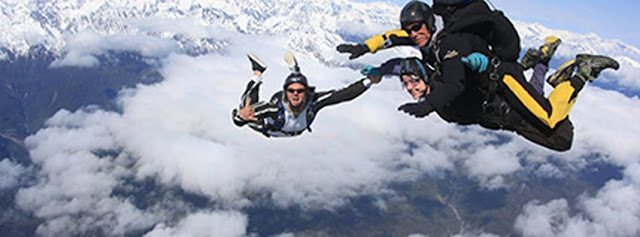 Skydiving Places in New Zealand