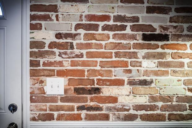 Thin Brick Tile Backsplash