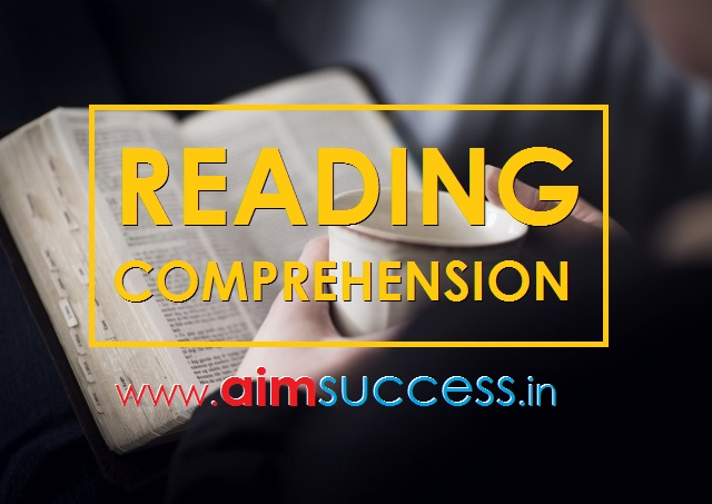Reading Comprehension  for SBI PO/Clerk 2018: 02 May