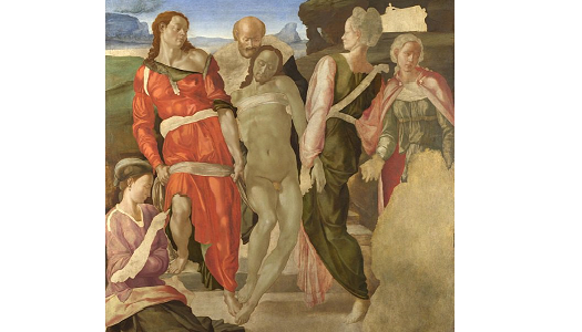 The Entombment   Michelangelo