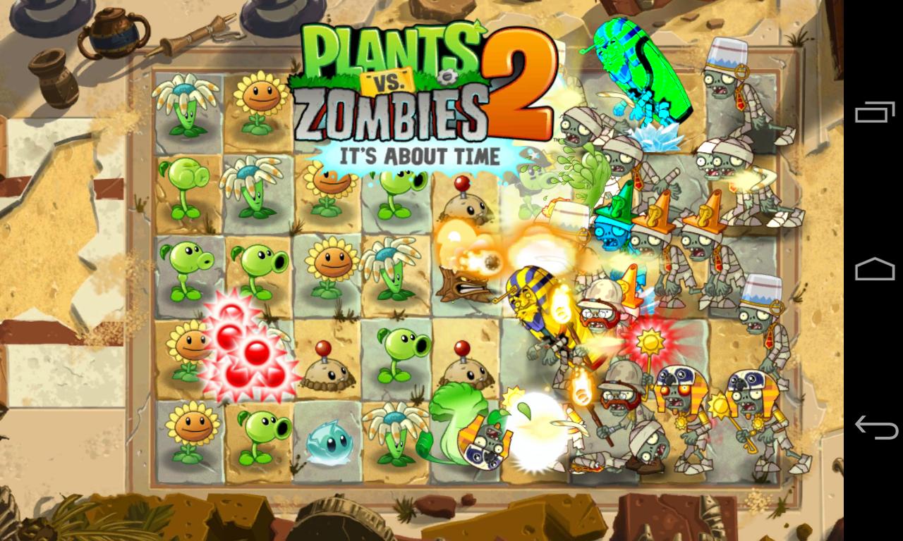 Plants Vs Zombies 2 Apk Llega A Google Play Gratis Para Todos