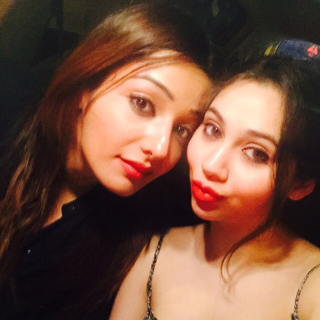 me nd my frd sasha 😘😘, Sonia Mann Hot Pics From Real Life