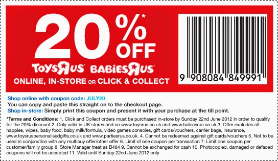 photograph about Babies R Us 20 Off Coupon Printable titled Infants r us on the net coupon code june 2018 - Spartan coupon codes omaha