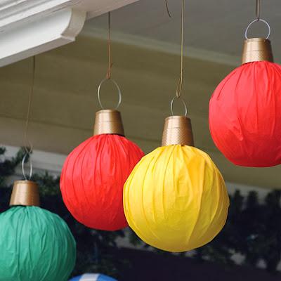 новогодние шары, украшения на елку