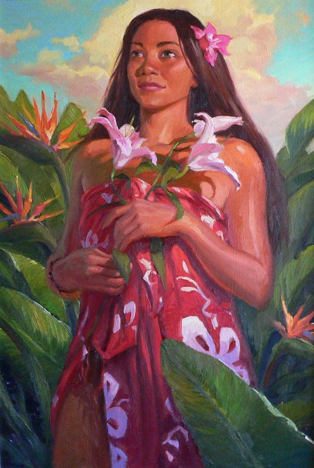 Island Girl Candy Mac Velvet Teddy Dupe: James Finch Art: Island Girl