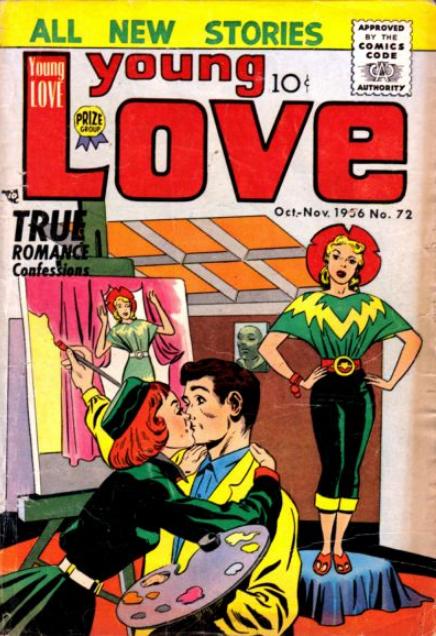 Simon-Kirby Young Love Comics