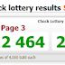 Thai Lottery Today Result Live For 01-09-2018