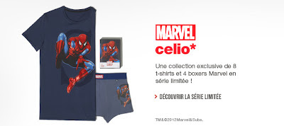 Collection Marvel - Celio