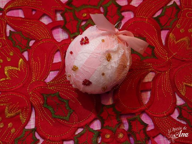 de esferas navideñas diy