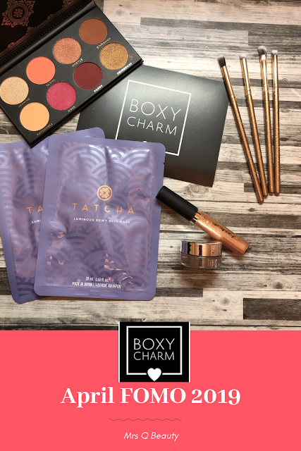 Boxy Charm April FOMO 2019 Box Unboxing