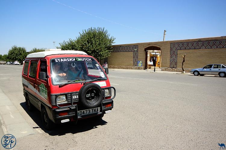 Le Chameau Bleu - Blog Voyage Ouzbékistan - Starsky et Hutch ouzbek