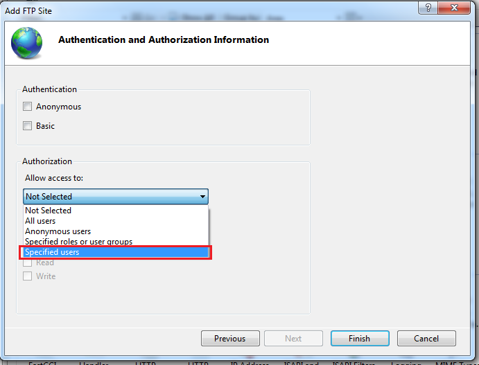 Authenticate And Authorization information