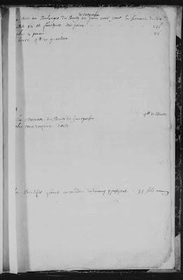 registre de Carquefou comptes du curé