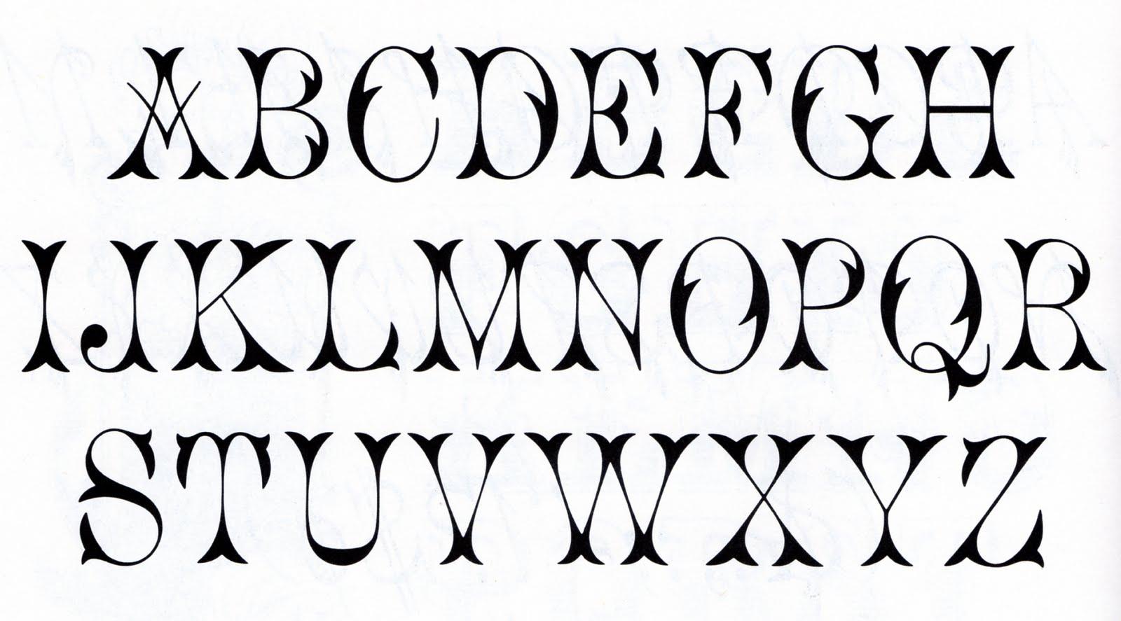The Vintage Moth Vintage Free Font Alphabet