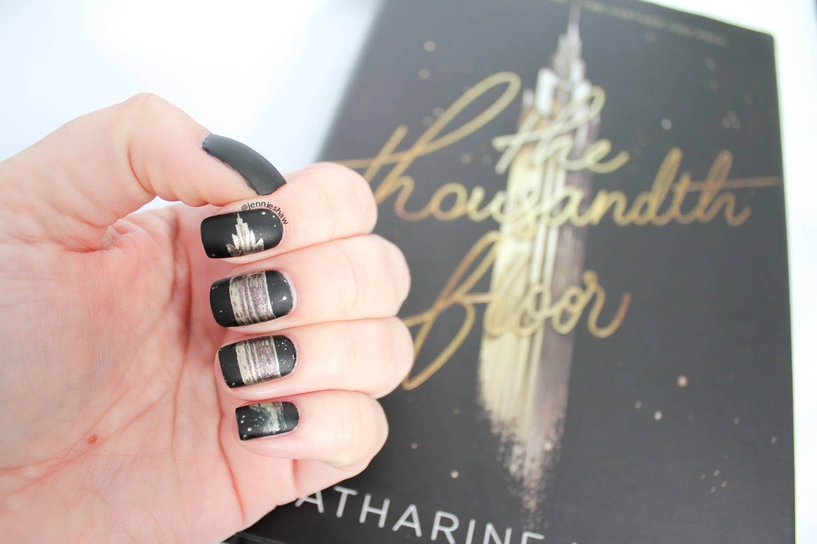 Jennie S Nails And Tales Book Review With Cover Mani