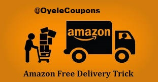 Amazon Free Delivery & Shipping Trick