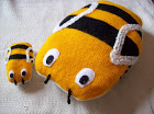 BUMBLE BEE CUSHION & TOY