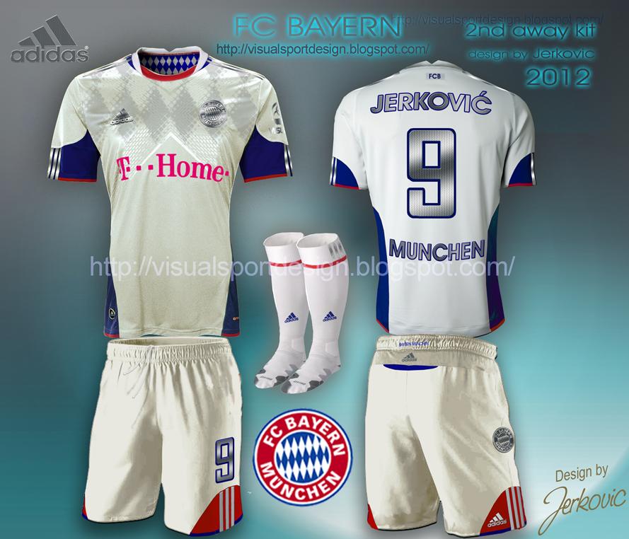 brand new 3726b b0a98 Visual Football Fantasy Kit Design: FC BAYERN MUNCHEN ADIDAS