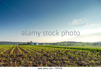 Farmland, Lancaster County, Pennsylvania, home to the Amish. (Credit: alamy.com) Click to Enlarge.