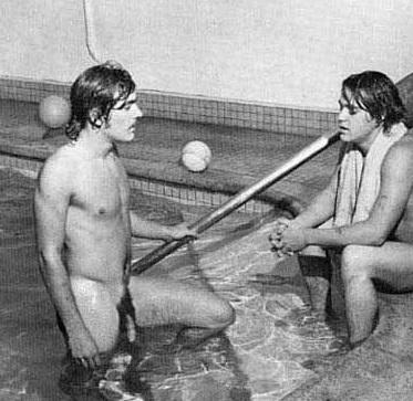 Naked swim team