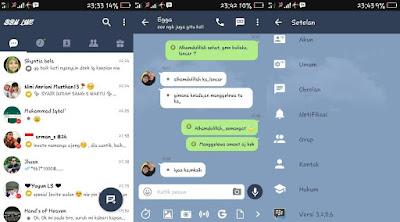 BBM Mod Line Messenger 3.2.0.6 di Android Release Terbaru