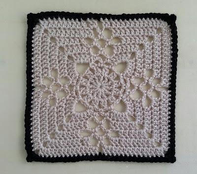 Crochet Victorian Lattice Square